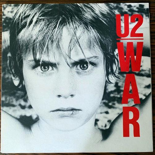 U2 War (Island - Scandinavia original) (EX/VG+) LP