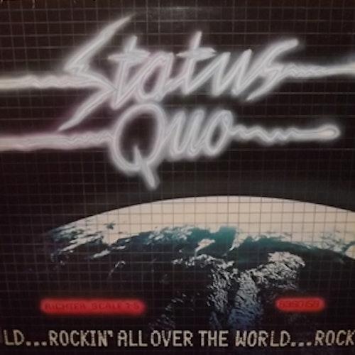STATUS QUO Rockin' All Over The World (Vertigo - Scandinavia original) (VG+/EX) LP