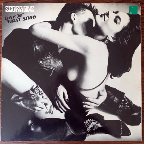 SCORPIONS Love At First Sting (Harvest - Europe original) (VG+/VG) LP