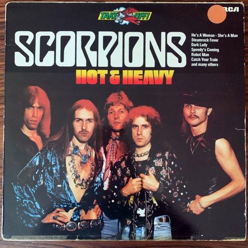 SCORPIONS Hot & Heavy (RCA - Germany original) (VG/VG+) LP