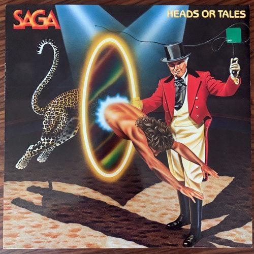 SAGA Heads Or Tales (Bon Aire - Germany reissue) (VG+) LP