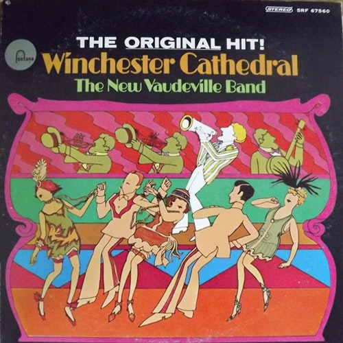 NEW VAUDEVILLE BAND, the Winchester Cathedral (Fontana - USA original) (VG+) LP