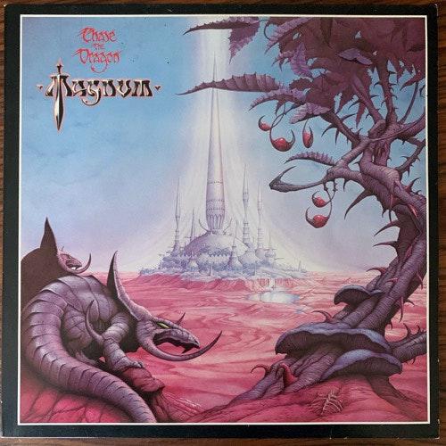 MAGNUM Chase The Dragon (Jet - Europe original) (VG+) LP