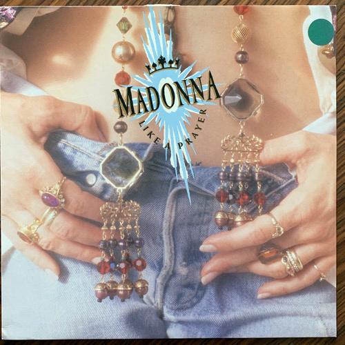 MADONNA Like A Prayer (Sire - Europe original) (VG+) LP