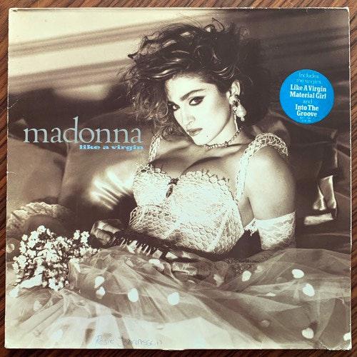 MADONNA Like A Virgin (Sire - Europe 1985 reissue) (VG/VG+) LP