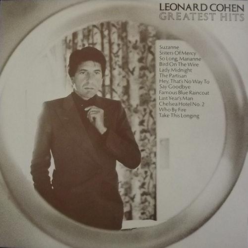 LEONARD COHEN Greatest Hits (CBS - Holland reissue) (EX) LP