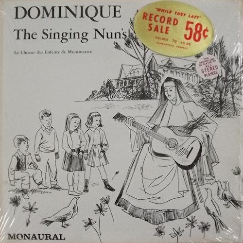 LE CHOEUR DES ENFANTS DE MONTMARTRE Dominique - The Singing Nun's Song (Palace - USA original) (EX/VG+) LP
