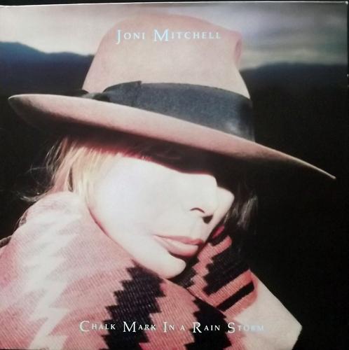 JONI MITCHELL Chalk Mark In A Rain Storm (Geffen - Europe original) (EX/VG+) LP