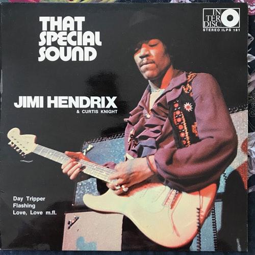 JIMI HENDRIX & CURTIS NIGHT That Special Sound (Interdisc - Sweden original) (VG+) LP