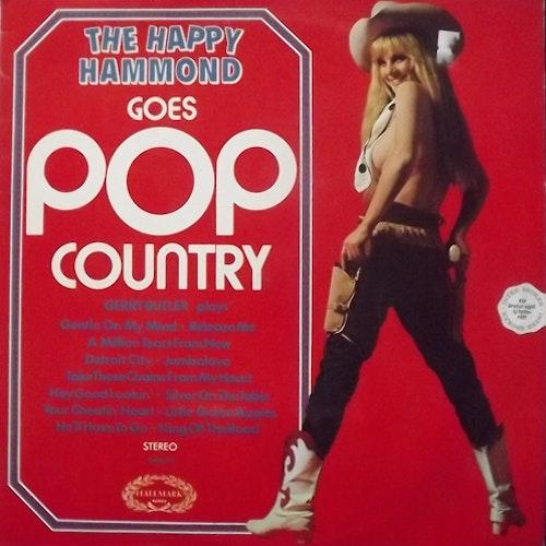 GERRY BUTLER The Happy Hammond Goes Pop Country (Hallmark - UK original) (VG+/VG-) LP