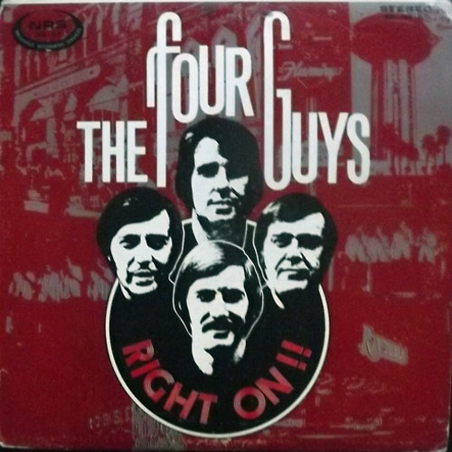 FOUR GUYS, the Right On!! (NRS - USA repress) (VG) LP
