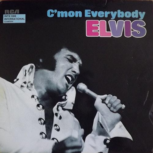 ELVIS PRESLEY C'mon Everybody (RCA - Germany original) (VG+/VG) LP
