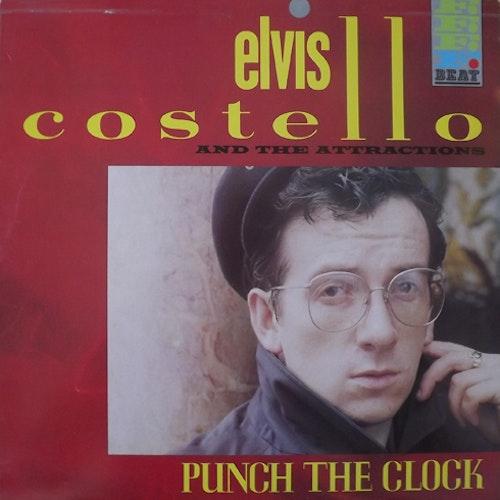 ELVIS COSTELLO & THE ATTRACTIONS Punch the Clock (F-Beat - Scandinavia original) (VG+/EX) LP