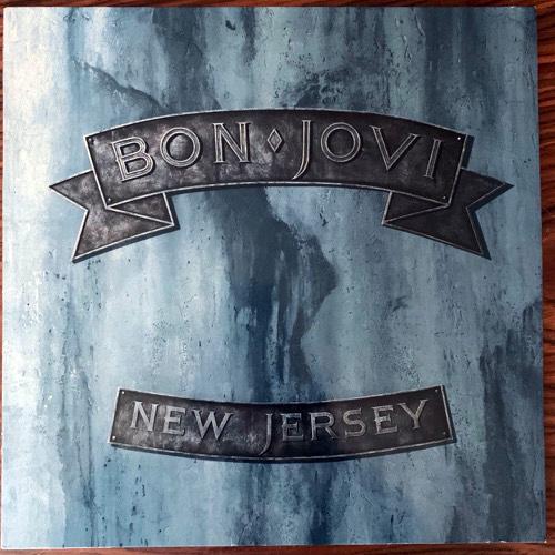 BON JOVI New Jersey (Vertigo - Europe original) (EX/VG+) LP