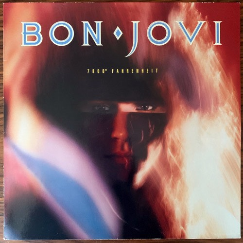 BON JOVI 7800° Fahrenheit (Mercury - Europe original) (VG+) LP