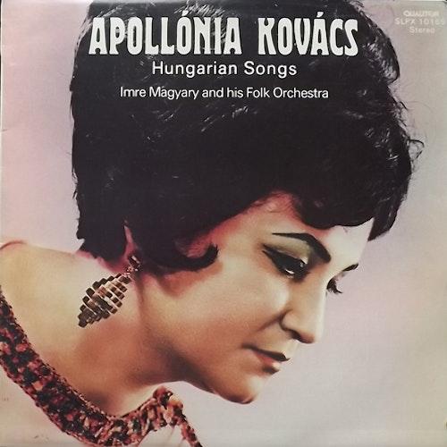 APOLLÓNIA KOVÁCS Hungarian Songs (Qualiton - Hungary original) (VG+) LP