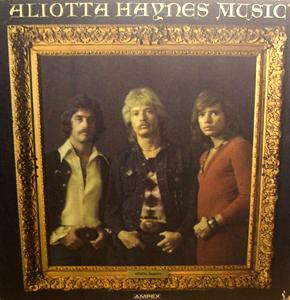 ALIOTTA HAYNES Aliotta Haynes Music (Ampex - USA original) (VG) LP