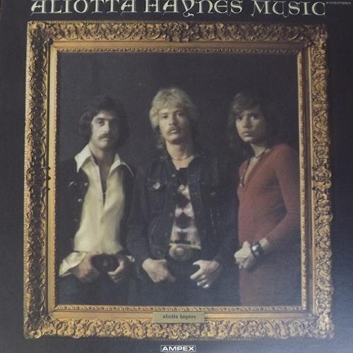 ALIOTTA HAYNES Aliotta Haynes Music (Ampex - USA original) (EX) LP