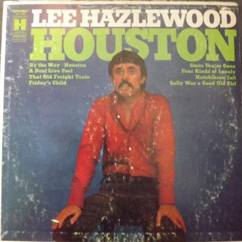 LEE HAZLEWOOD Houston (Harmony - USA reissue) (F/VG) LP