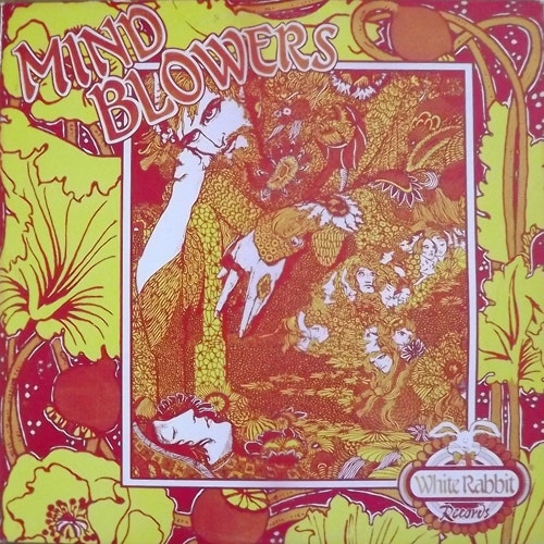 VARIOUS Mind Blowers Volume One (White Rabbit - USA unofficial release) (VG+/EX) LP