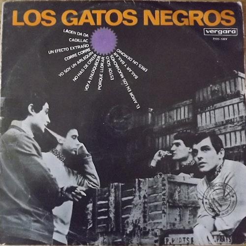 LOS GATOS NEGROS Los Gatos Negros (Vergara - Spain original) (G/VG) LP