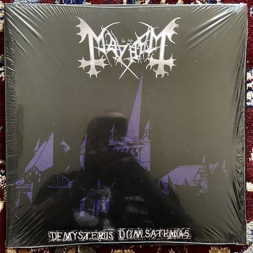 MAYHEM De Mysteriis Dom Sathanas (Purple vinyl) (Back On Black - UK 2010 reissue) (NM) LP