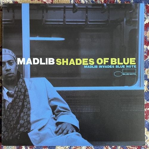 MADLIB Shades Of Blue (Madlib Invades Blue Note) (Stones Throw - 2008 reissue) (EX) 2LP