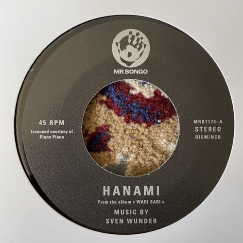 "SVEN WUNDER Hanami / Shinrinyoku (Mr Bongo - UK original) (NM) 7"""