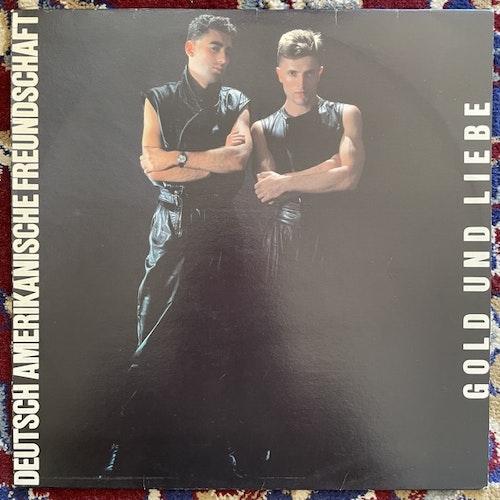 DAF (DEUTSCH AMERIKANISCHE FREUNDSCHAFT) Gold Und Liebe (Virgin - Finland original) (VG+/EX) LP