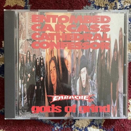 VARIOUS Gods Of Grind (Earache - UK original) (EX) CD