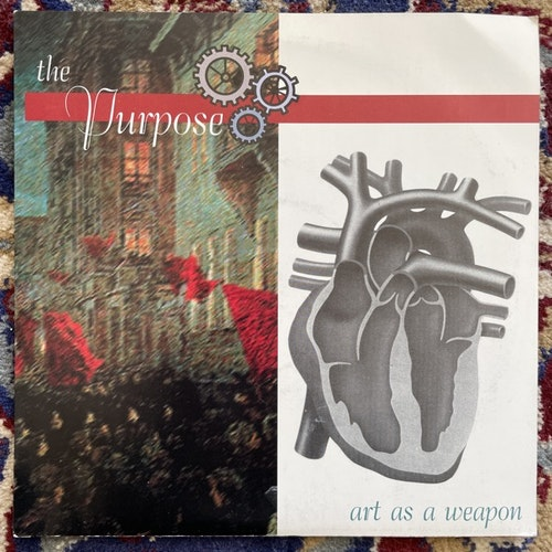 "PURPOSE Art As A Weapon (Yellow vinyl) (Underestimated - USA original) (VG+/EX) 7"""