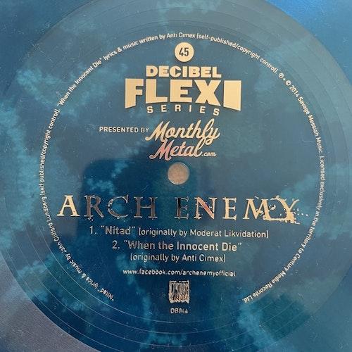 """ARCH ENEMY Nitad (Decibel - USA original) (VG+) FLEXI 7"""""""