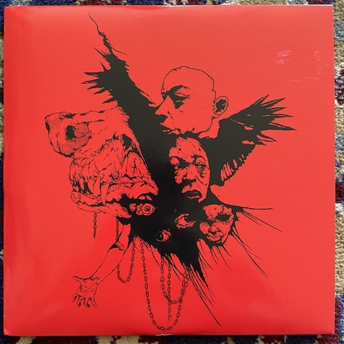 """SALVATION House Of The Beating Hell (Red vinyl) (Youth Attack - USA original) (VG+/EX) 7"""""""