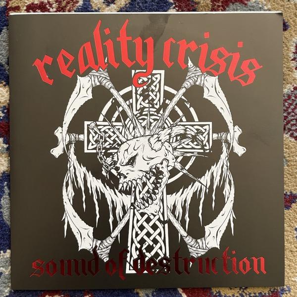 "REALITY CRISIS Sound Of Destruction (HG Fact - Japan original) (EX) 7"""