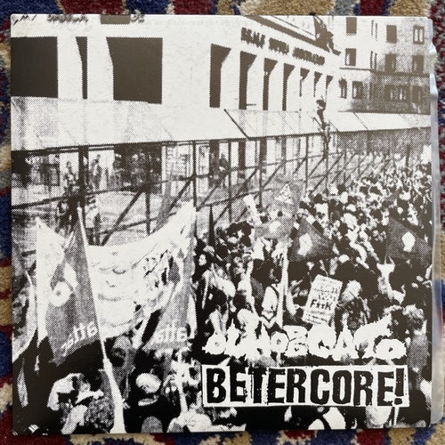 """BETERCORE / OLHO DE GATO Fuck The Borders! (Wasted Youth - Europe original) (NM/EX) 7"""""""