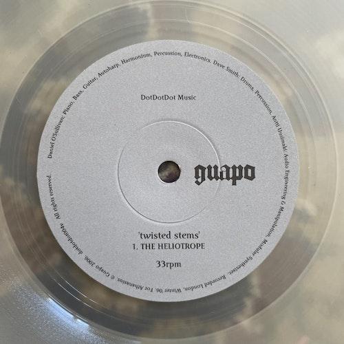 "GUAPO Twisted Stems (Clear vinyl) Dot Dot Dot Music - Ireland original) (EX) 7"""