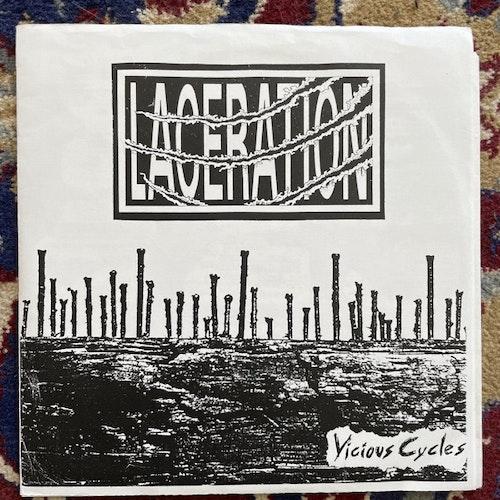 "LACERATION / BAD ACID TRIP Split (Agitate 96 - USA original) (VG+/EX) 7"""