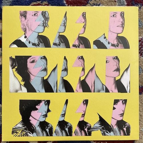 """GLASS CANDY Love On A Plate (Splatter vinyl) (Release the Bats - Sweden original) (VG+/EX) 7"""""""