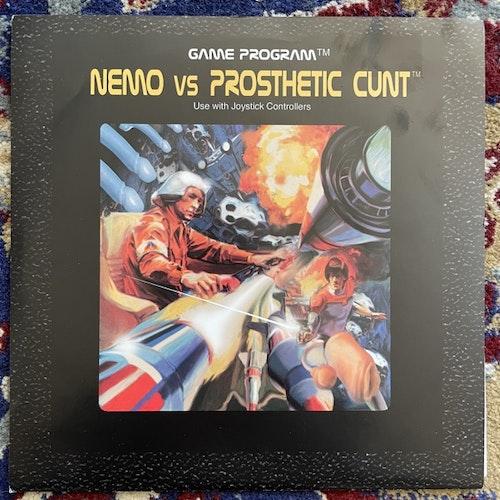 "NEMO VS PROSTHETIC CUNT Split (Clear vinyl) (Relapse - USA original) (EX) 7"""