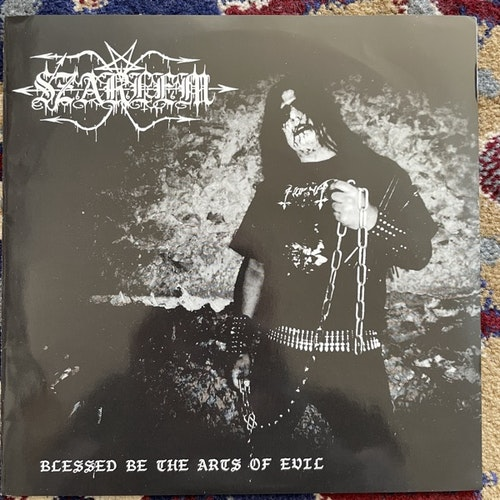 """SZARLEM Blessed Be The Arts Of Evil (Self released - Germany original) (EX) 7"""""""