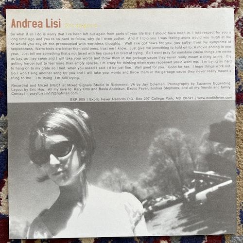 "ANDREA LISI / HOMAGE TO CATALONIA Split (Exotic Fever - USA original) (EX) 7"""