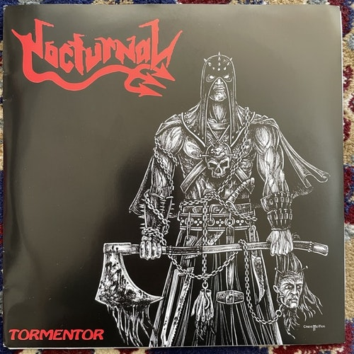 "NOCTURNAL Tormentor (Thrashing Rage - Germany original) (EX) 2x7"""