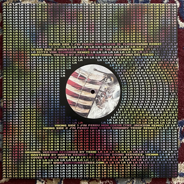 """VORTEX REX FEAT. -NN. J'ai Perdu Mon Coeur - Remixes (Seayou - Austria original) (EX/VG) 12"""""""