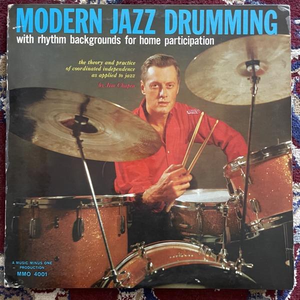 JIM CHAPIN Modern Jazz Drumming (Music Minus One - USA original) (VG-/VG) 2LP