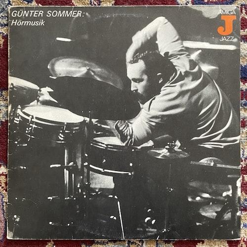 GÜNTER SOMMER Hörmusik (AMIGA - Germany original) (VG) LP
