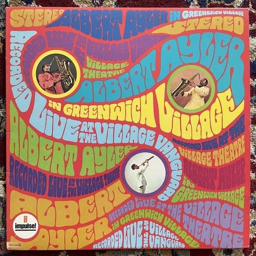 ALBERT AYLER In Greenwich Village (MCA - USA 1989 reissue) (VG+/NM) LP