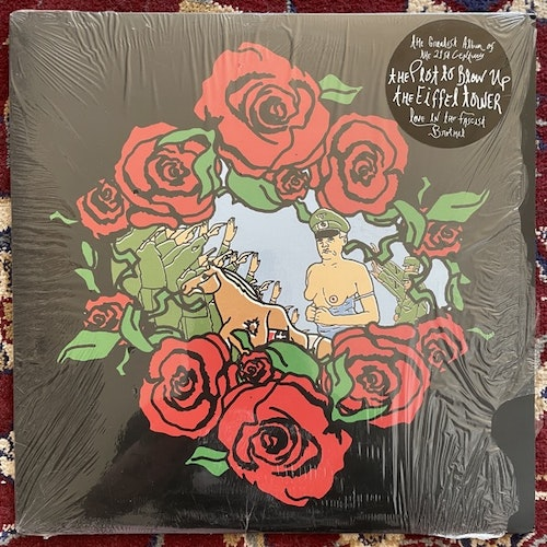 PLOT TO BLOW UP THE EIFFEL TOWER, the Love In The Fascist Brothel (Clear vinyl) (Three One G (31G) - USA original) (EX/NM) LP