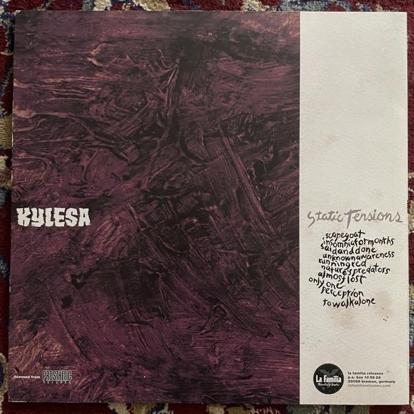 KYLESA Static Tensions (La Familia - Europe original) (EX/VG+) LP