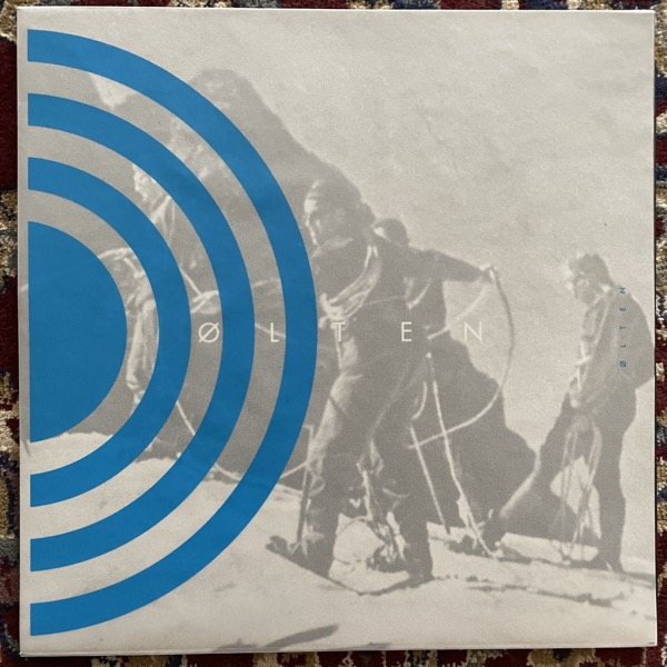 ØLTEN Ø L T E N (Blue vinyl) (Division - Switzerland original) (NM/EX) LP