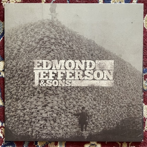 "EDMOND JEFFERSON & SONS Edmond Jefferson & Sons (White/black vinyl) (Joylon - Switzerland original) (EX/NM) 12"" EP"